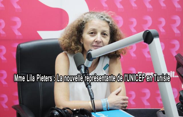 La représentante de UNICEF Lila Pieters-RTCI