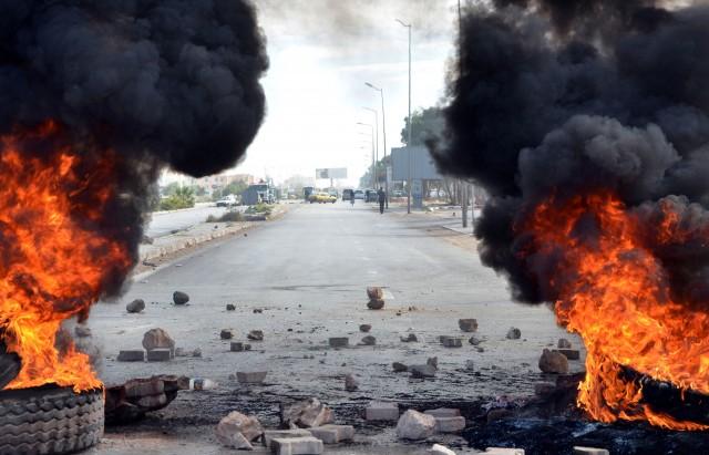 TUNISIE6PROTESTATION