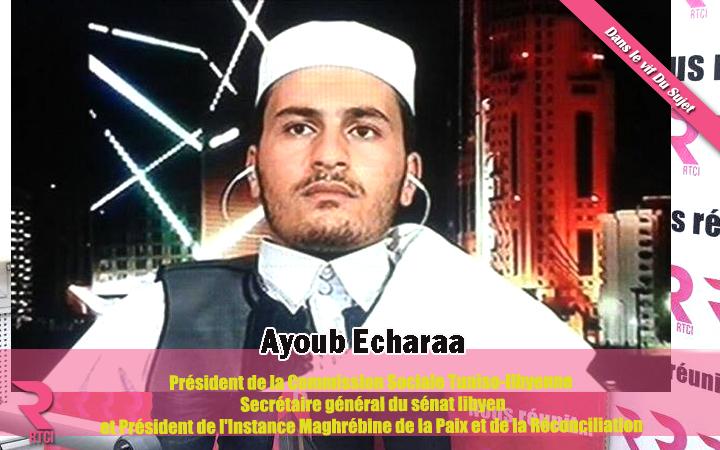 Ayoub Echaraa-rtci-Libye