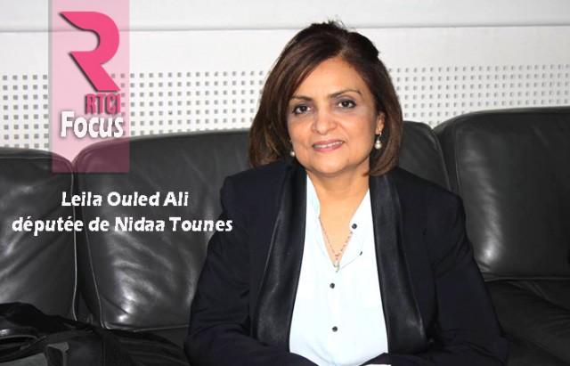 Leila Ouled Ali-députee de Nidaa Tounes RTCI