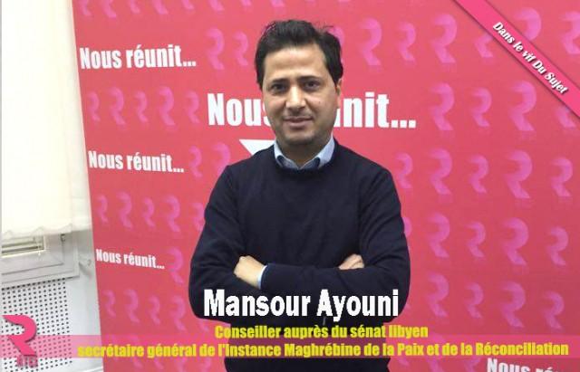 Mansour Ayouni-LIBYE-SENAT-TUNISIE