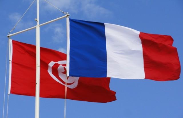 tunisie-france-drapeaux