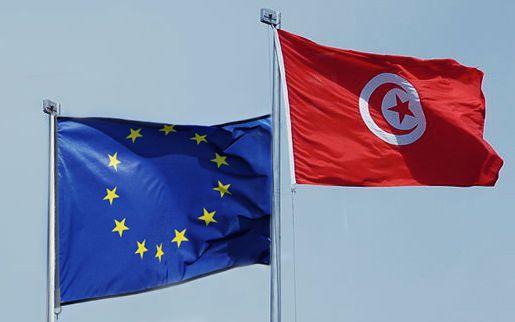 drapeaux-UE-Tunisie