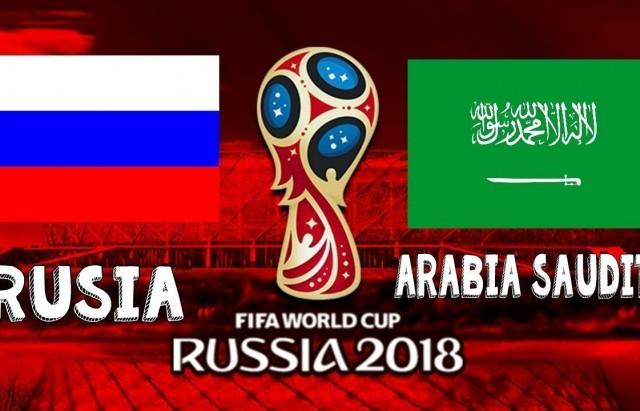 Coupe du monde 2018 – Russie vs Arabie Saoudite