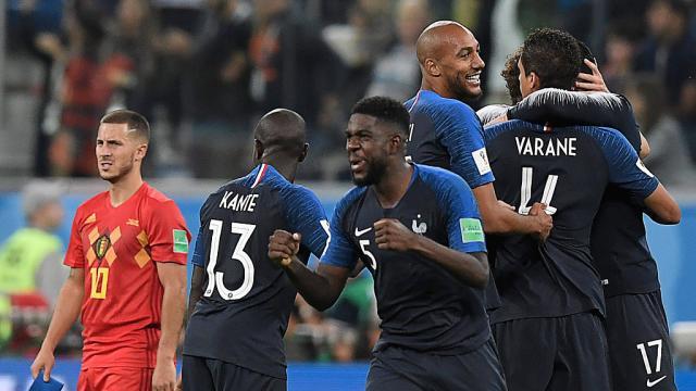 Coupe du monde 2018 la france bat la belgique et file en finale du mondial rtci radio - Date coupe du monde 2018 ...