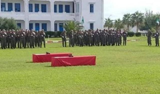 Une cérémonie funéraire officielle en hommage aux deux martyrs Yassine Chahbi et Idriss Zouaghi2