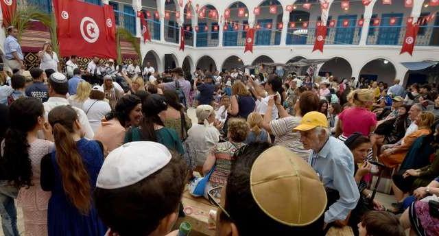 TUNISIA-RELIGION-JEWS-PILGRIMAGE