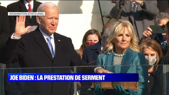 la cérémonie d'investiture de Joe Biden