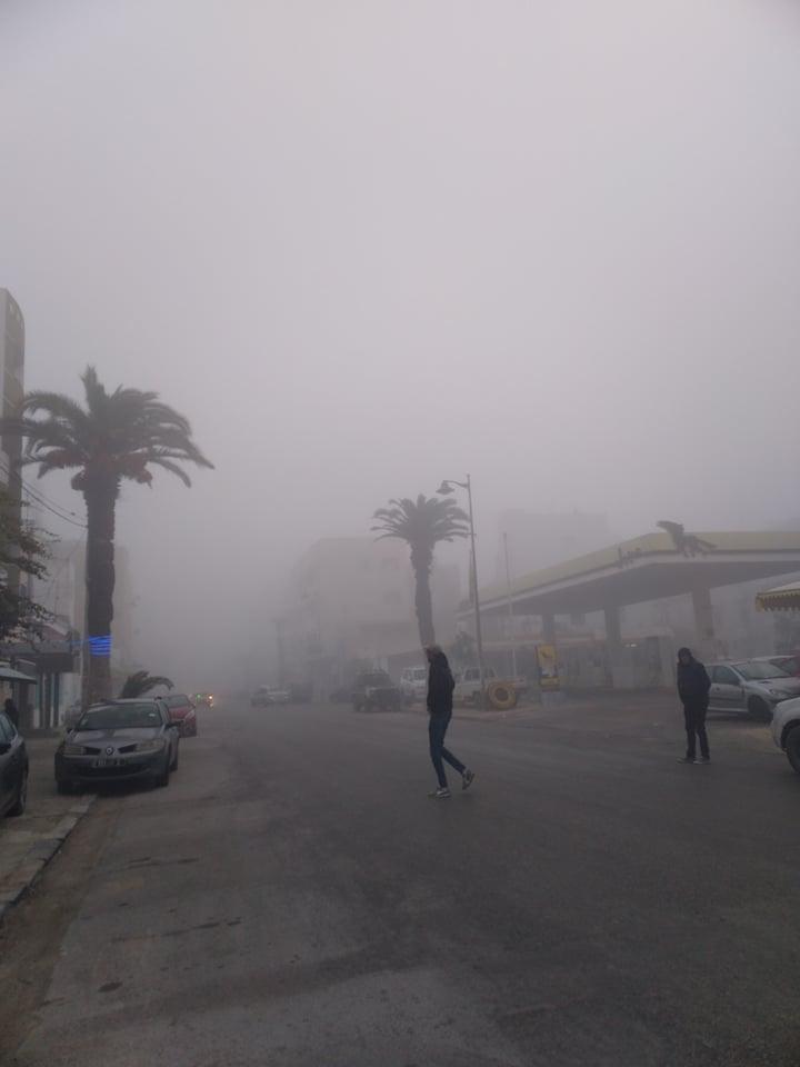 Un brouillard dense